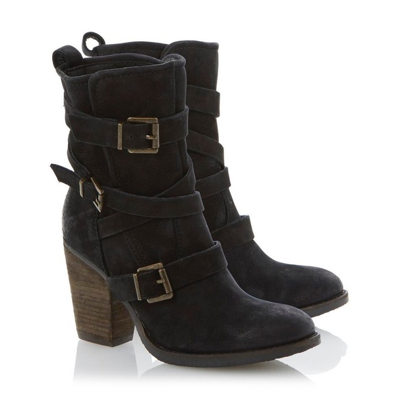 """8a5980ed2c8 STEVE MADDEN """"Yale"""" belted boot"""
